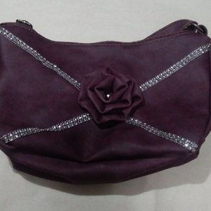 "New Mauve Purse 12"" x 8"""